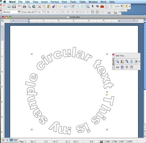 How Do You Make Letters Curved In Word