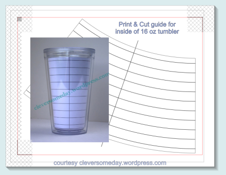 free tumbler helper print and cut guide