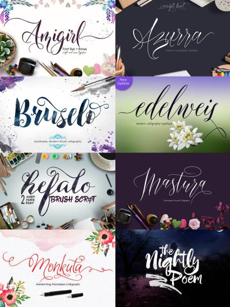 Learn how to use the crafter friendly fonts at cleversomeday.wordpress.com